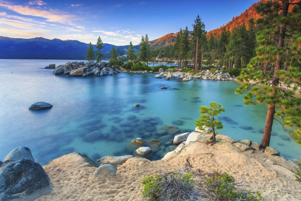 Lake Tahoe Sand Harbor beach