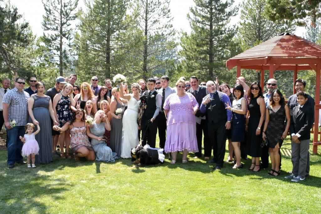lake tahoe wedding Center