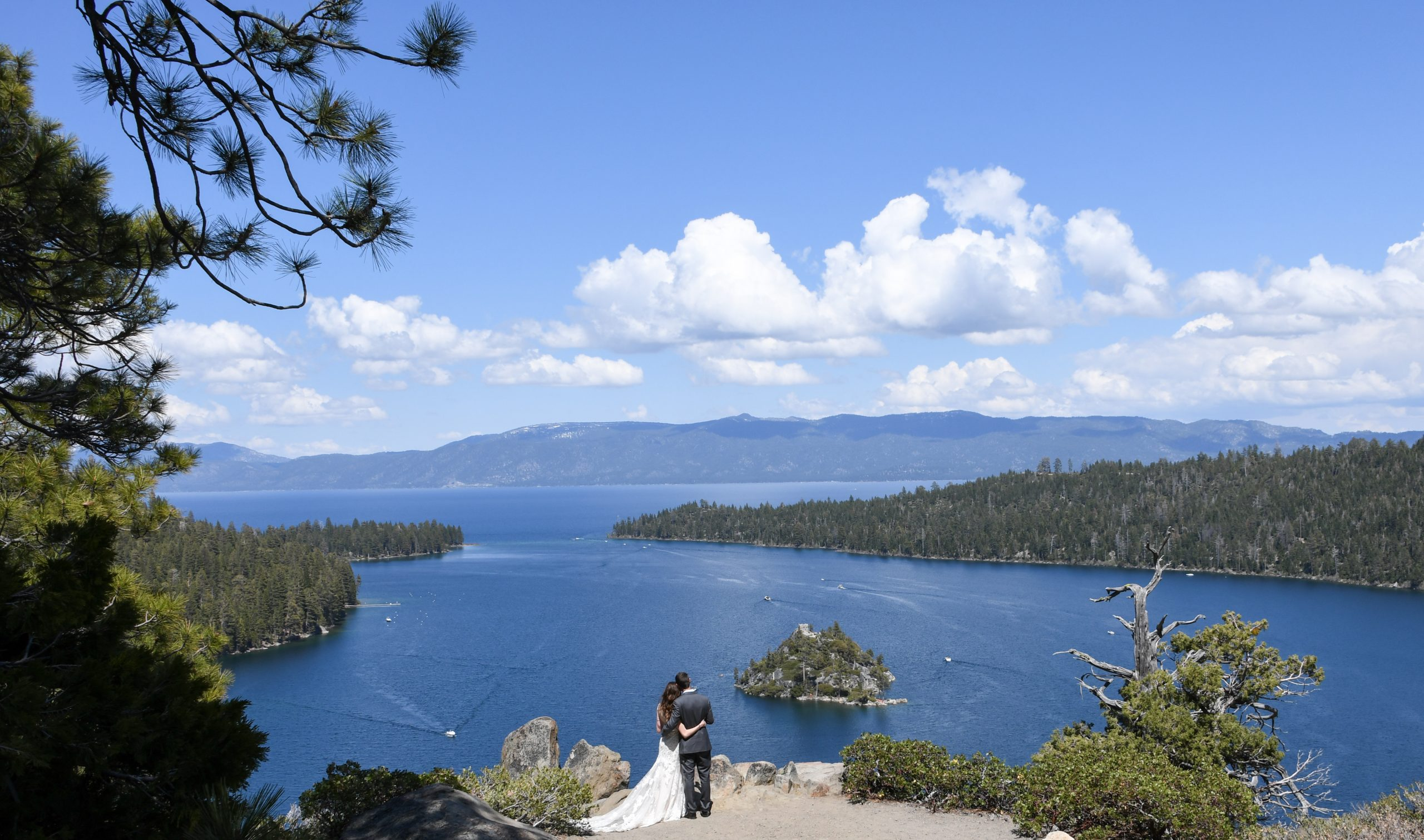 Lake Tahoe wedding location